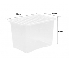 WHAM CRYSTAL 80L BOX AND LID