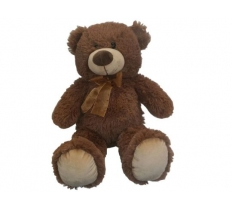 20CM SITTING BEAR BROWN