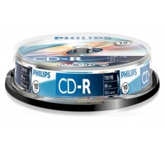 Philips CD-R Spindle 10 Pack