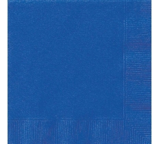 20 ROYAL BLUE LUNCH NAPKINKINS