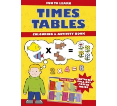 Times Table Activity Book