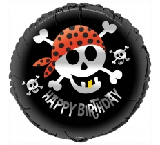 "18"" PIRATE FUN FOIL BALLOON"