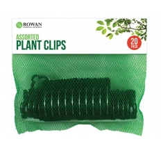ASSORTED PLANT CLIPS 20PACK