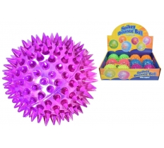 75mm Light Up Spikey Ball In Display Box