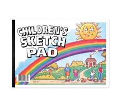 SILVINE A4 CHILDRENS SKETCH PAD 40 SHEETS