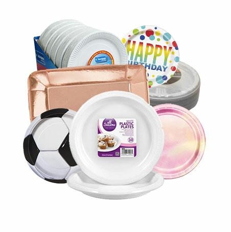 PARTY PLATES & BOWLS