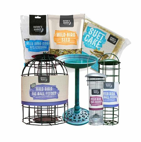 BIRD FOOD & FEEDERS