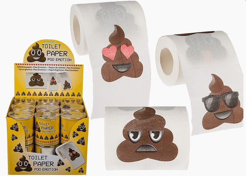 TOILET PAPER EMOTION IN PVC BOX