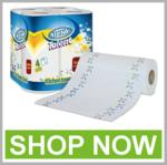 TISSUE, TOILET & KITCHEN ROLLS