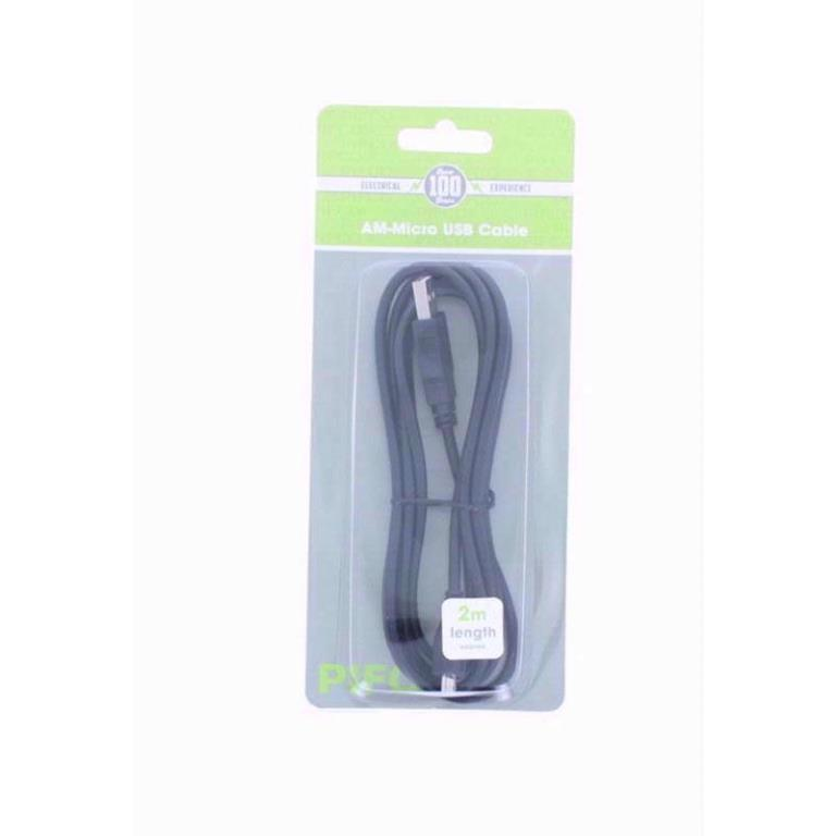 USB AM MICRO USB CABLE 2M
