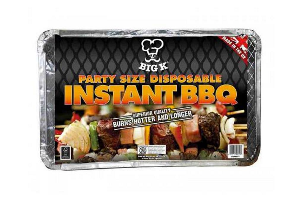 BIG K ALL IN ONE PARTY SIZE DISPOSABLE BBQ