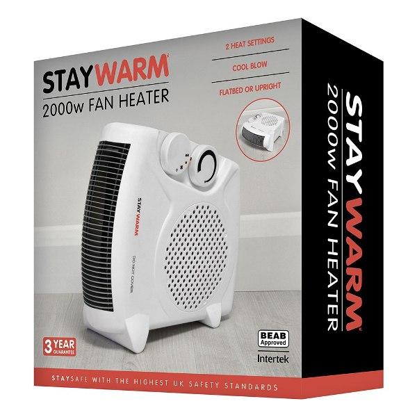 LLoytron F2003WH Fan Heater 2000W with