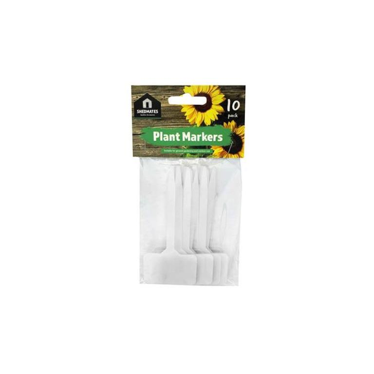 GARDEN LARGE PLANT MARKERS 10 PACK