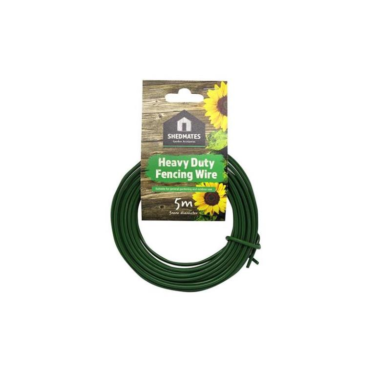 GARDEN HEAVY DUTY 3MM FENCING WIRE 5M