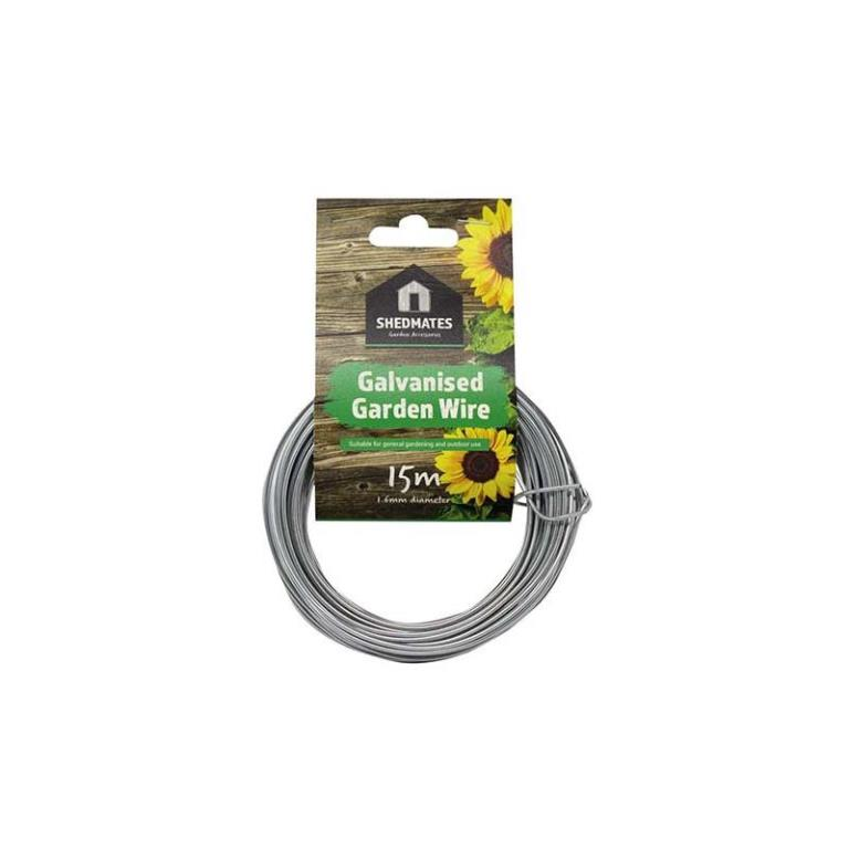 GARDEN 1.6MM GALVANISED WIRE 15M