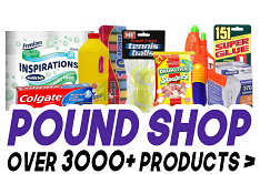 Pound Shop Products - Click Here