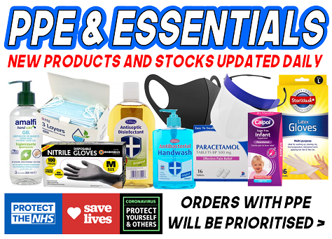 PPE & Essential Products - Click Here