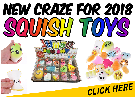 New Craze * SQUISH TOYS *