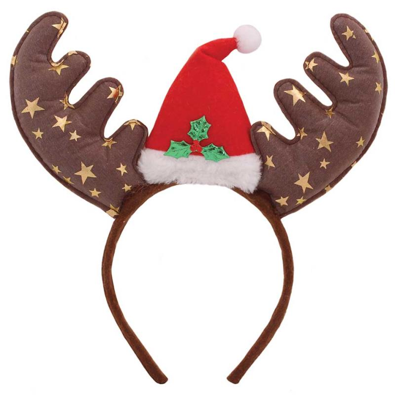 HEADBAND STAR ANTLERS WITH HAT