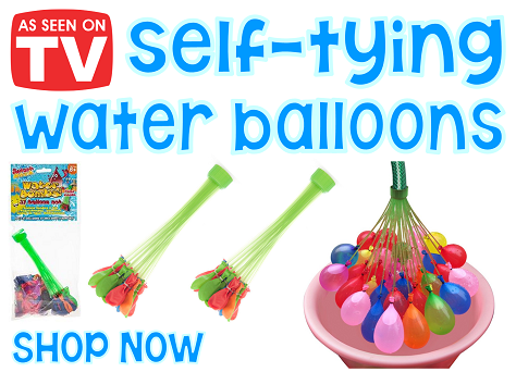 Self - Tying Water Balloons