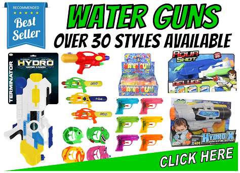 Water Guns - Over 30 Styles Available