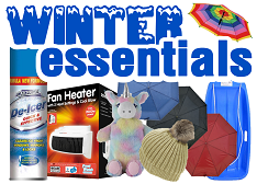 New Winter Essentials - Click Here