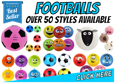 Footballs - Over 50 Styles Available