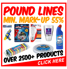 Pound Lines - 65p Or Less