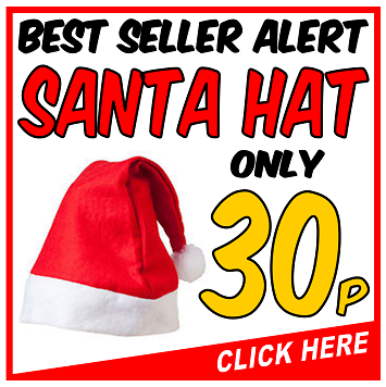 Santa Hat Only 30p